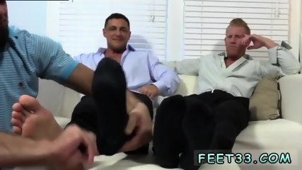 Youngest naked gay thigh penis and feet Ricky Worships Johnny & Joey s Feet
