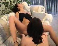 Nice Lesbian Orgasm - scene 9