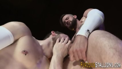 Buff studs ass pounded