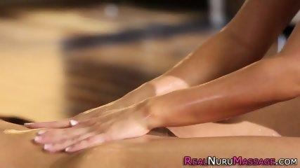 Scissoring lez masseuse