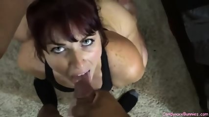 Homemade Big Ass Redhead Fucked By BBC