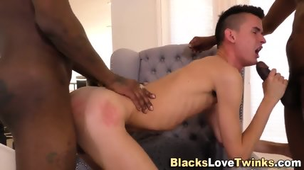 Buttfucked Twink Facial