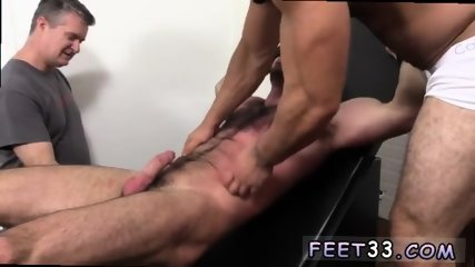 Gay feet and cocks Billy Santoro Ticked Naked