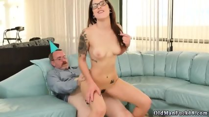 Old step dad and mature Let s soiree you crony s sons of bitches!