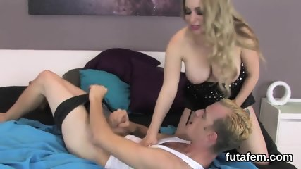 Teens plow studs anal hole with monster strap-ons and blast jism