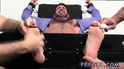 Feet gay Billy Santoro Ticked Naked