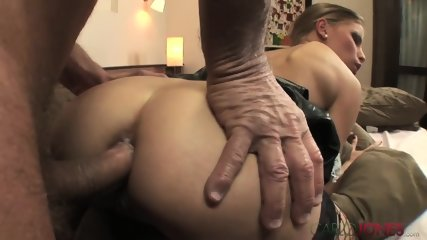Old Guy Fucks Dirty Slut