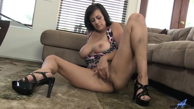 Girl With High Heels In Solo Action