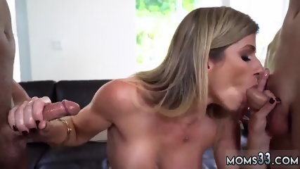 Milf handjob in car Stepmom Turns Wet Dreams Into Reality