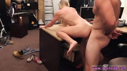 Amateur sex hd Blonde bimbo tries to sell car, sells herself