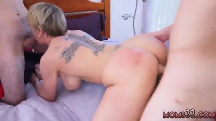 Big tit blonde nurse Baseball Practice Turns Into A Wild Threesome