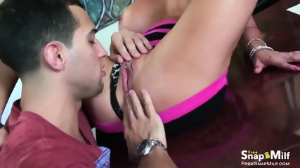 Blonde Russian Squirter Loves Anal
