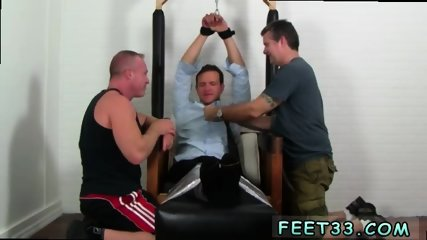 Gay young sexy men feet blowjob pron Gordon Bound & Tickle d