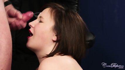 Chubby Girl Sucks Cock