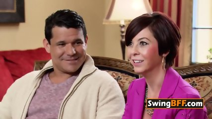 Mina and Andres discuss the rules before meeting other swinger couples
