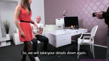 female agent casting - scene 1