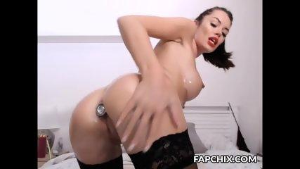 Pretty Hot Oiled Co-Ed Live Sex Show