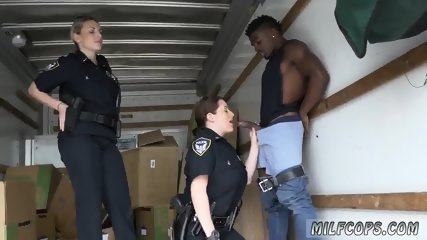 Silicone milf and chubby anal hd Black suspect taken on a raunchy ride