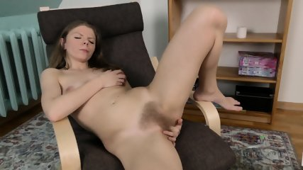 Girl With Fantastic Hairy Cunt - scene 12