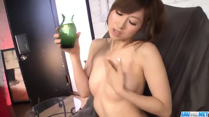 Naked Amateur Reira Aisaki Shows Off Nudity On Cam - More At - scene 5