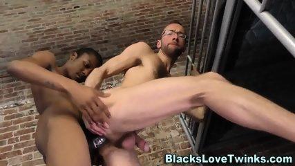 Black Twink Prisoner Rams