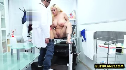 Big tits doctor sex with cumshot