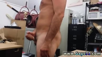 Group cock rubbing gay Straight guy heads gay for cash he needs