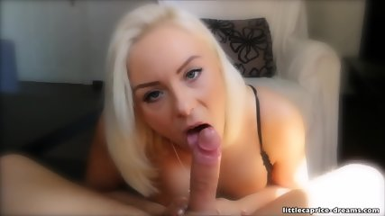 Cock Sucking By Busty Blonde