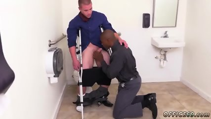 Gay sex in tight shorts The HR meeting - scene 8