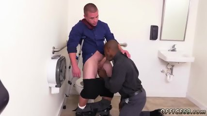 Gay sex in tight shorts The HR meeting - scene 11