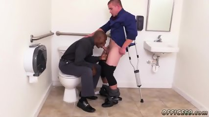Gay sex in tight shorts The HR meeting - scene 12