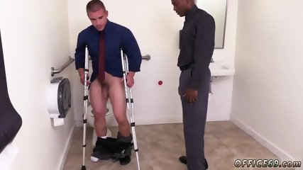 Gay sex in tight shorts The HR meeting - scene 4