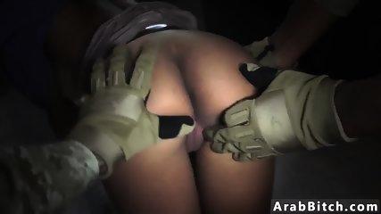 Muslim guy fucks white girl The Booty Drop point, 23km outside base - scene 11