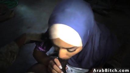 Muslim guy fucks white girl The Booty Drop point, 23km outside base - scene 1