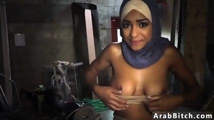 Muslim guy fucks white girl The Booty Drop point, 23km outside base - scene 7