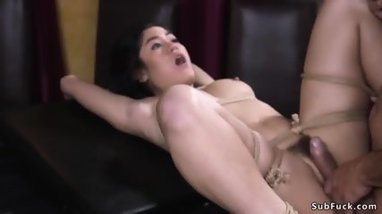 Hairy journalist whipped and fucked - scene 8