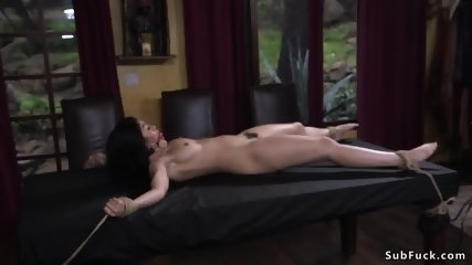 Hairy journalist whipped and fucked - scene 4