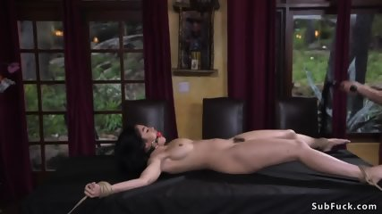 Hairy journalist whipped and fucked - scene 5