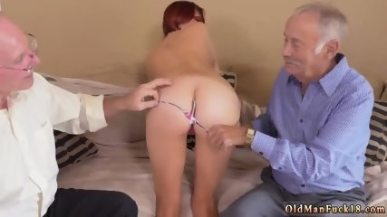 Old and young girl Frannkie And The Gang Take a Trip Down Under - scene 4