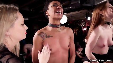 Mistress made lesbians masturbating - scene 8