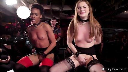 Mistress made lesbians masturbating - scene 10