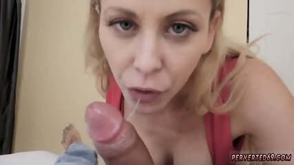 Skinny step mom and blonde milf squirt Cherie Deville in Impregnated By My Steppartner s - scene 12