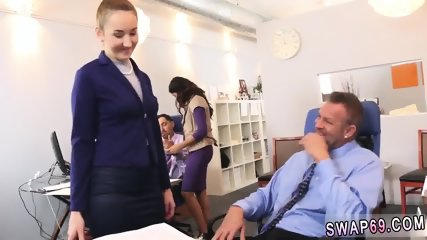 Teen big boobs and ass muscle guy xxx Bring Your chum s daughter To Work Day - scene 1