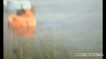 Voyeur spy cam caught couple in the lake - scene 6