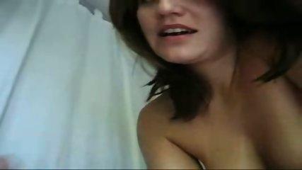 Horny busty brunette cock sucking - scene 5