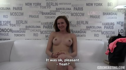 Attractive Amateur Fucked At Casting - scene 6