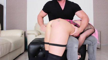 Masked Girl Ass Fucked - scene 1