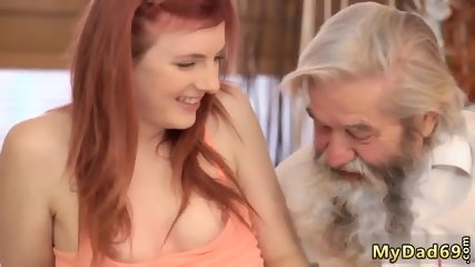 How old is she Unexpected practice with an older gentleman