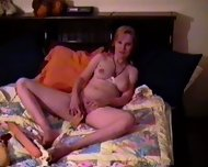 Blond having fun - scene 2