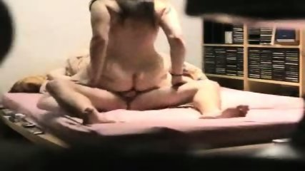Fat ass wife trying to ride his cock - scene 12